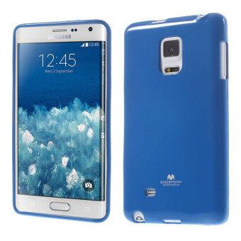 Mercury Jelly TPU Case for Samsung Galaxy Note Edge N915G (Blue)
