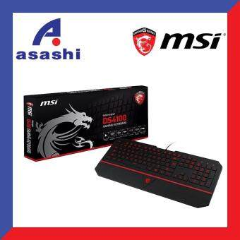 Harga MSI Interceptor DS4100 Gaming Keyboard