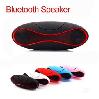 Harga New Mini Portable Speaker Wireless Bluetooth Speakers FM withStrong Bass Portable Audio Player Support TF Card