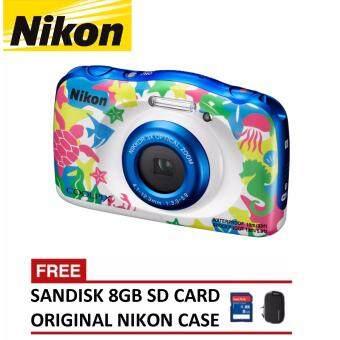 Nikon CoolPix W100 Digital Camera – Marine (Nikon Malaysia Warranty)