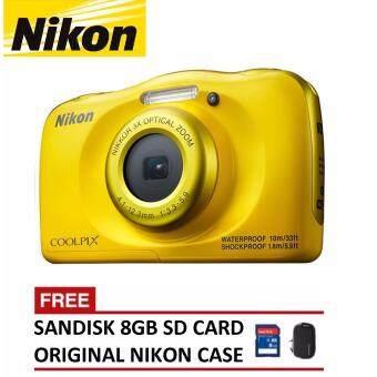 Nikon CoolPix W100 Digital Camera (Nikon Malaysia Warranty)