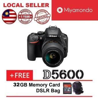 Sale Nikon D5600 With 18-55mm Lens + 32GB + Bag
