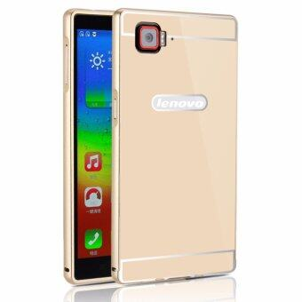 OEM Aluminum Metal Case For Lenovo Vibe Z2 Pro K920 With HD Screen Protector Gold