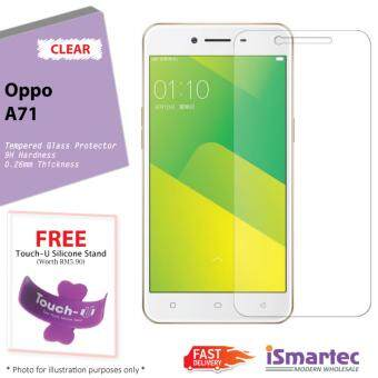 Oppo A71 Tempered Glass Protector 0.26mm + 9H Hardness (HD Clear)