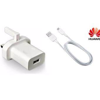 Harga Original Huawei Quick Charge Adapter + Data Cable - Micro USB Cable