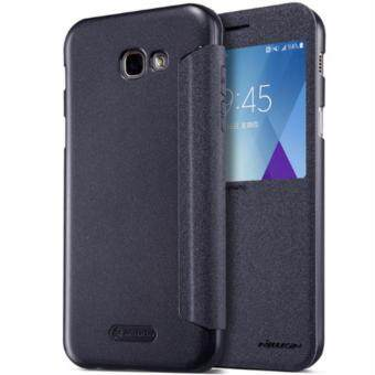 Original Nillkin Samsung A5 2017 A520F Sparkle Leather Case Black