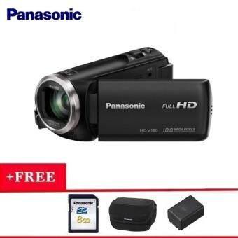 Panasonic HC-V180 10.0MP Full HD Camcorder (Panasonic Malaysia Warranty)