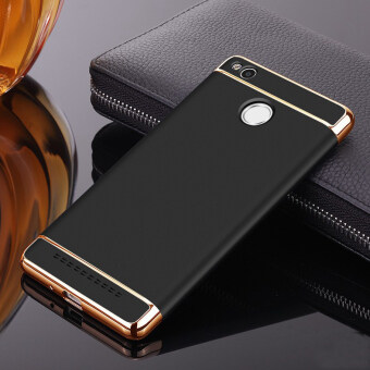 Plating Ultra Slim Phone Case 3 in 1 Matte Frosted PC Back Cover For Xiaomi Redmi