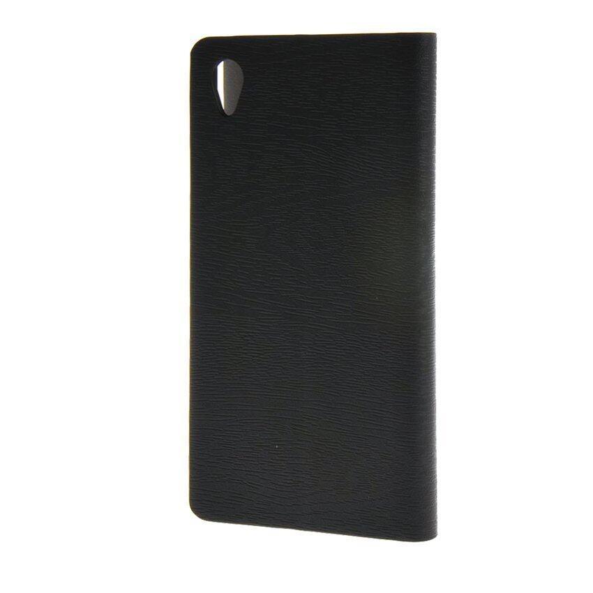 PREMIE Cover Flip Case for Sony Xperia M4 (Black)