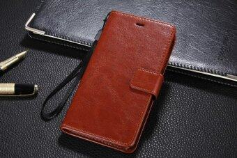 PU Leather Luxury Wallet Flip Stand Cover Case For Xiaomi Mi 4i / Mi 4C Mi4i