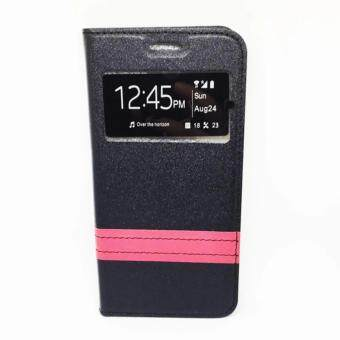 Features Samsung G A9 A9pro S View Panel Flip Cover Dan Harga