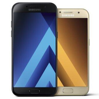 Samsung Galaxy A7 2017 Black 100% original set .
