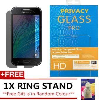 Fitur Tempered Glass Anti Spy Samsung Galaxy J1 Ace Black Dan Harga