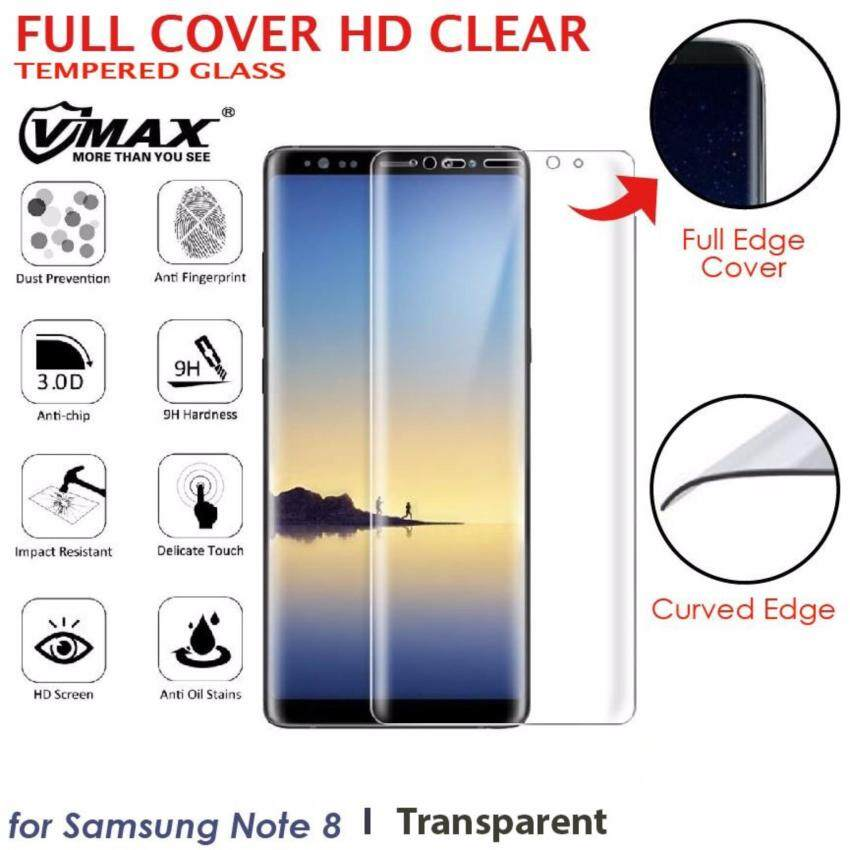 For Samsung Galaxy Note 8 3D Full Cover Curved Tempered Glass Screen Protector