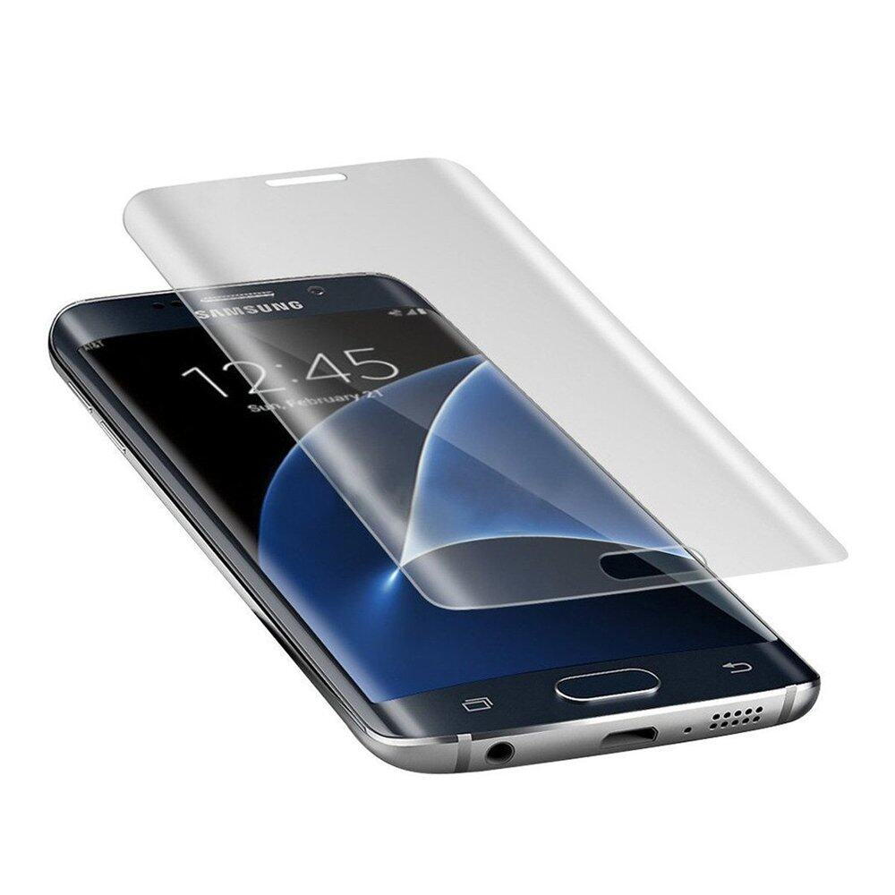 PREMIE Samsung Galaxy S7 Edge 0.3mm 9H 3D Curved Full Screen Cover Tempered Glass Screen Protector (Clear)