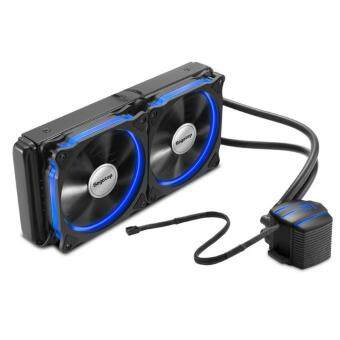 Harga Segotep Halo Blue LED 240 Liquid Water CPU Cooling Heat Sink