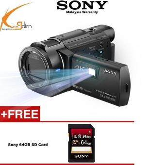 Sony FDR-AXP55 4K Video Handycam Camcorder(SONY MALAYSIA 1YEAR WTY)
