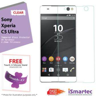 Sony Xperia C5 Ultra E5506 Tempered Glass Protector 0.26mm + 9H Hardness (HD Clear