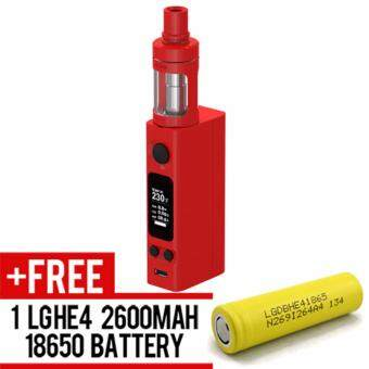 Harga Super Fast Marketing - Evic Vtc Mini Cubis (RED) Mod For Vape AndElectronic Cigarettes + 1 LGHE4 YELLOW BATTERY