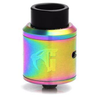 Harga Super Fast Marketing - GOON 1.5 RDA by 528 Custom Vapes (Rainbow)For Vape And Electronic Cigarettes