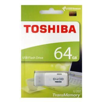 Toshiba Hayabusa 64GB Flash Drive USB Drive USB 2.0 - White (Toshiba Malaysia)