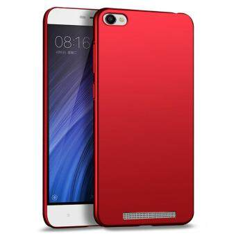 Ultra Thin PC Case For Xiaomi Redmi 4A Hard Shell Cover Anti-SlipMatte Coating Red