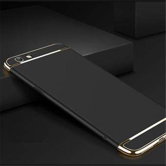 Ultra Thin Shockproof 3 in 1 Plating Hard PC Cover Matte Anti-fingerprint Electroplated Phone