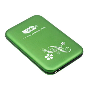 Harga USB 3.0 2.5 Inch SATA External HDD HD Hard Disk Drive EnclosureCover Case Green