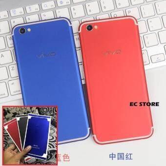 Vivo V5 V5s Matte Red Conversion Sticker Skin