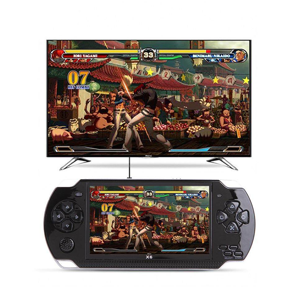 X6 HANDHELD CONSOLE GAME 4.0 INCH SCREEN WITH 8GB SUPPORT
