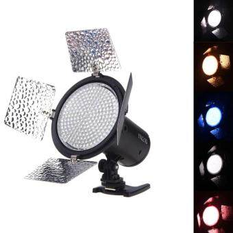 Yongnuo YN216 LED Studio Video Light Camera Shoot with 4 Color Plates for Canon Nikon Sony