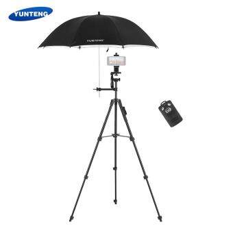 ... Tripod w/ 3-Way Damping Head with Photography Umbrella Phone Holder Remote Controller Support Remote Control for Phone for DSLR ILDC DV Cameras ...