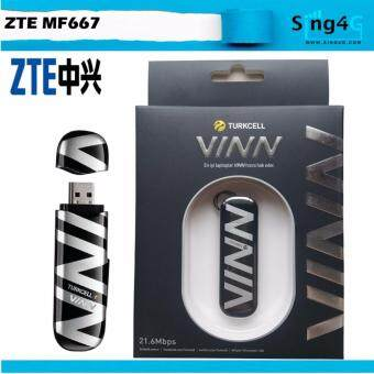 ZTE MF667 3G High Speed 21mbps Direct Sim Card USB Modem