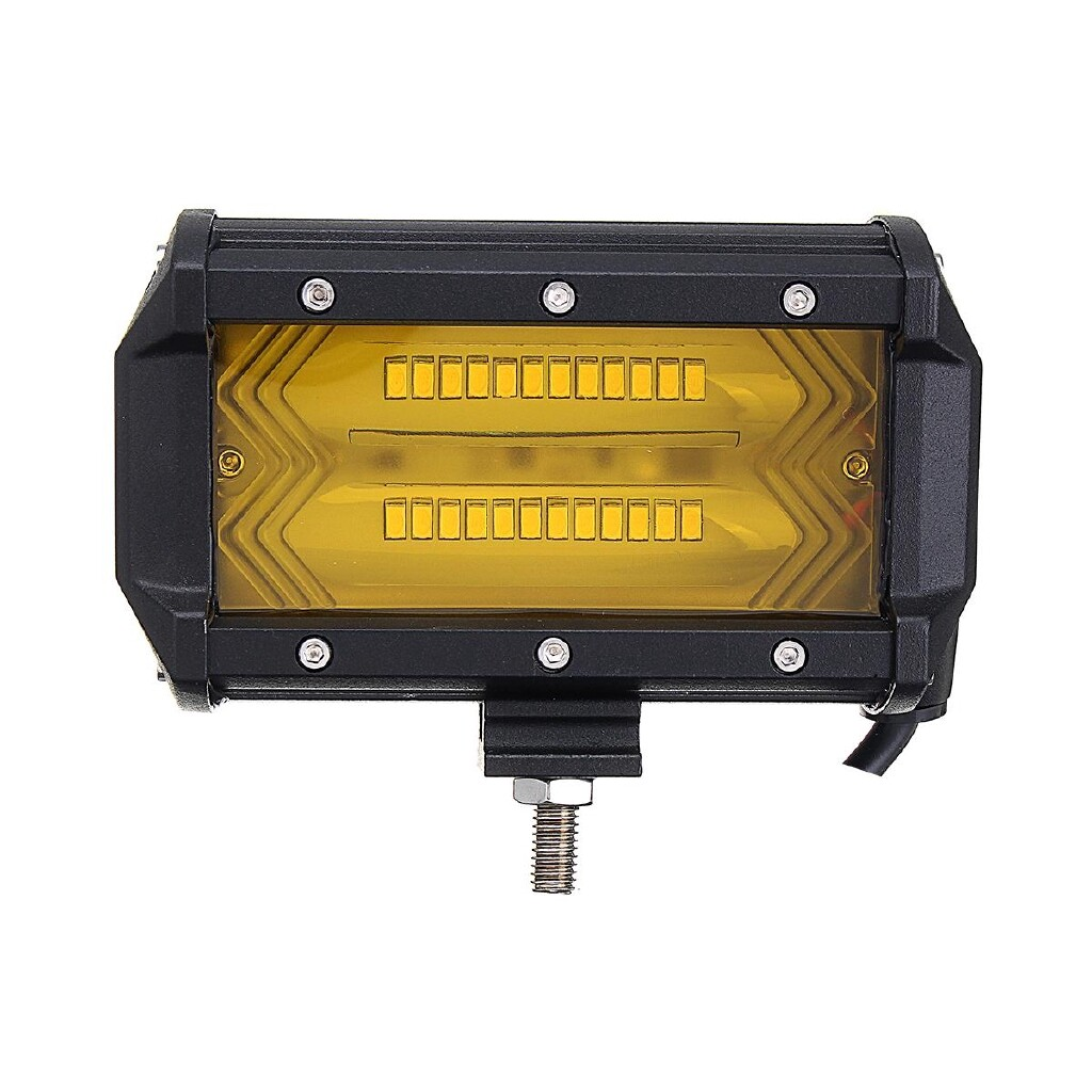 Car Lights - Car Work Light Flood Spot Combo Fog Lamp for Jeep Offroad SUV Boat Amber - Replacement Parts