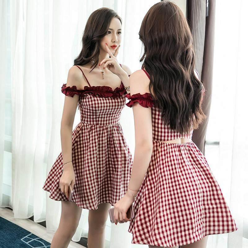 (Pre Order ETA End Feb CNY Break)(Pre Order ETA 14/2) (Ready Stock)JYS Fashion Korean Style Women Midi Dress Collection 388-7268