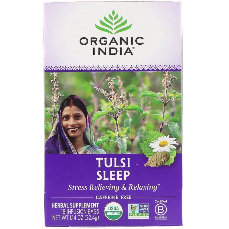 Organic India, Tulsi Sleep, Caffeine Free, 18 Bags