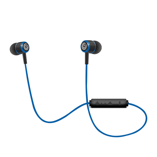 Sonic Gear Bluesports 6 Pro Wireless Bluetooth 4.2 With Mic (Blue/ Gun Metal/ Red)