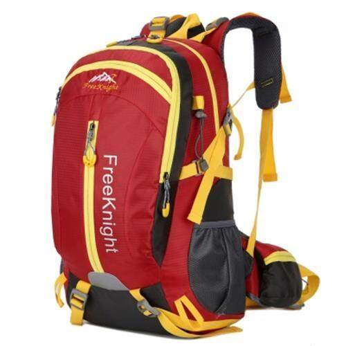 FREE KNIGHT FK0215 30L NYLON WATER RESISTANT BACKPACK (RED)