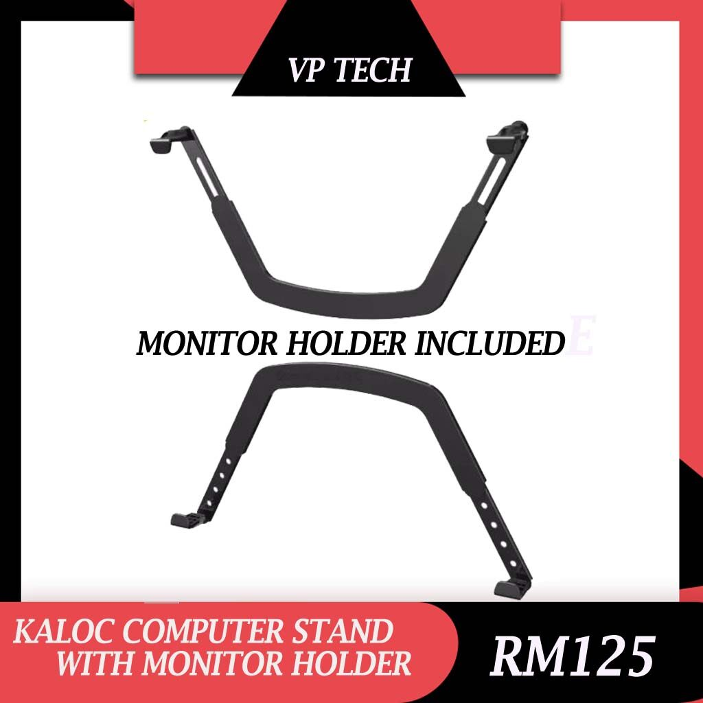 [READY STOCK] KALOC COMPUTER STAND DS90 (17-27INCH) WITH MONITOR HOLDER