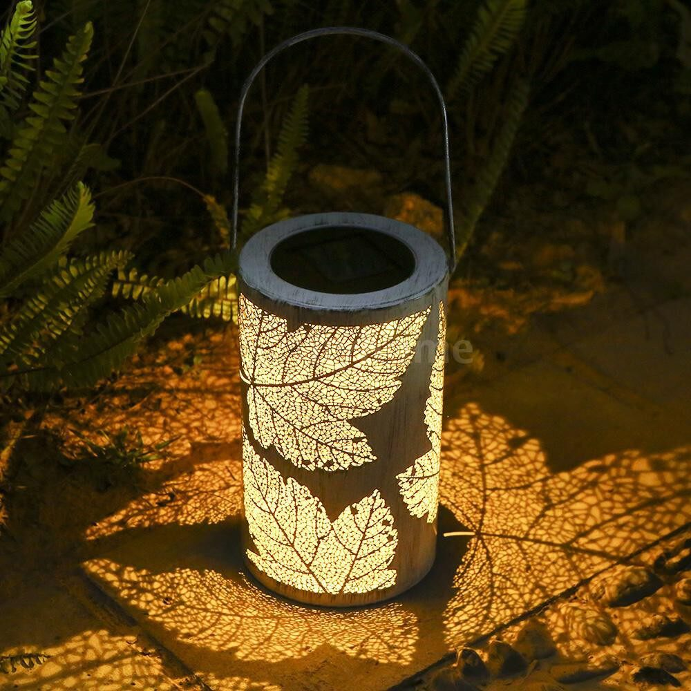 Outdoor Lighting - Solar Powered LED Light Lamp IP44 Water Resistance Rechargeable PORTABLE WIRELESS for - WHITE