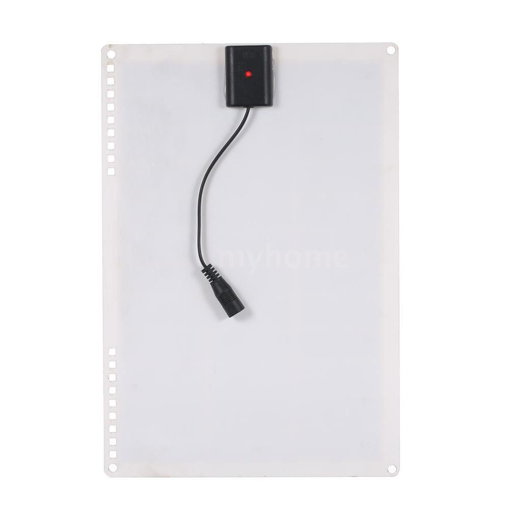 Lighting - DC5V/DC18V 15W PORTABLE Solar Power Energy Charging Panel USB Interface IP65 Water Resistance - #