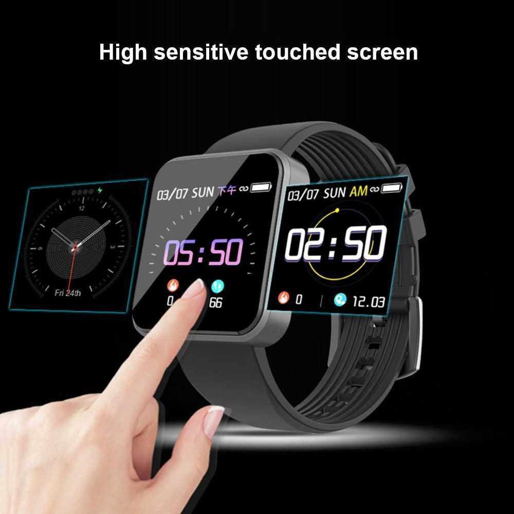 SX8 Smart Bracelet Heart Rate Monitor Smart Band Blood Pressure Measurement Pedometer Wristband IP67 Waterproof BT4.0 TPU Strap (Black)