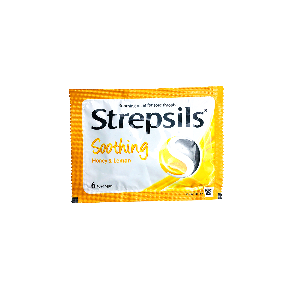 STREPSILS HONEY LEMON