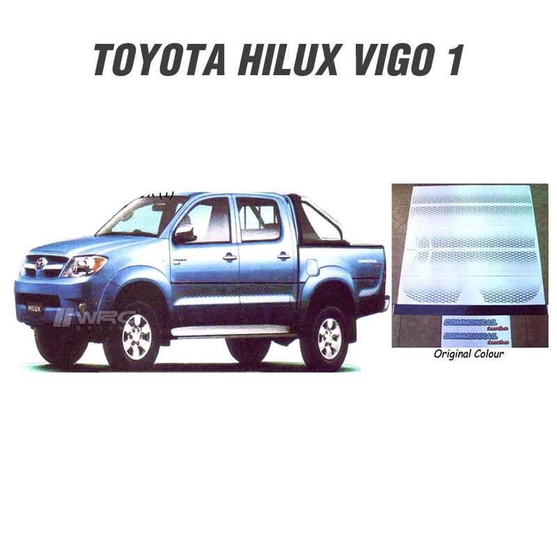 Toyota Hilux Vigo (1) Body Sticker