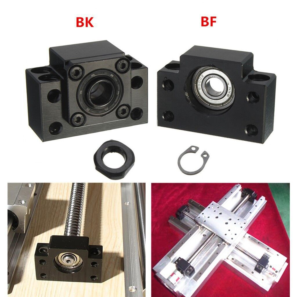 Fixed Side BK12 And Floated Side BF12 Ballscrew End Supports SOZ - Automotive