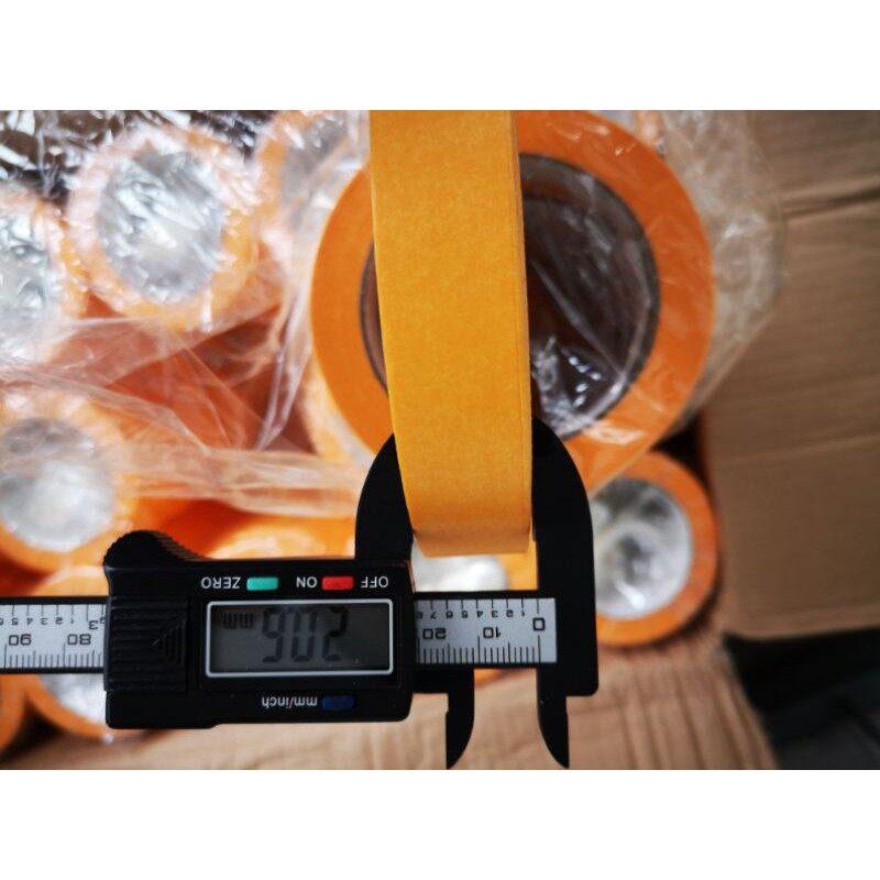 High performance Masking tape waterproof Water resistance Masking Tape 50meter High yellow temperature resistance