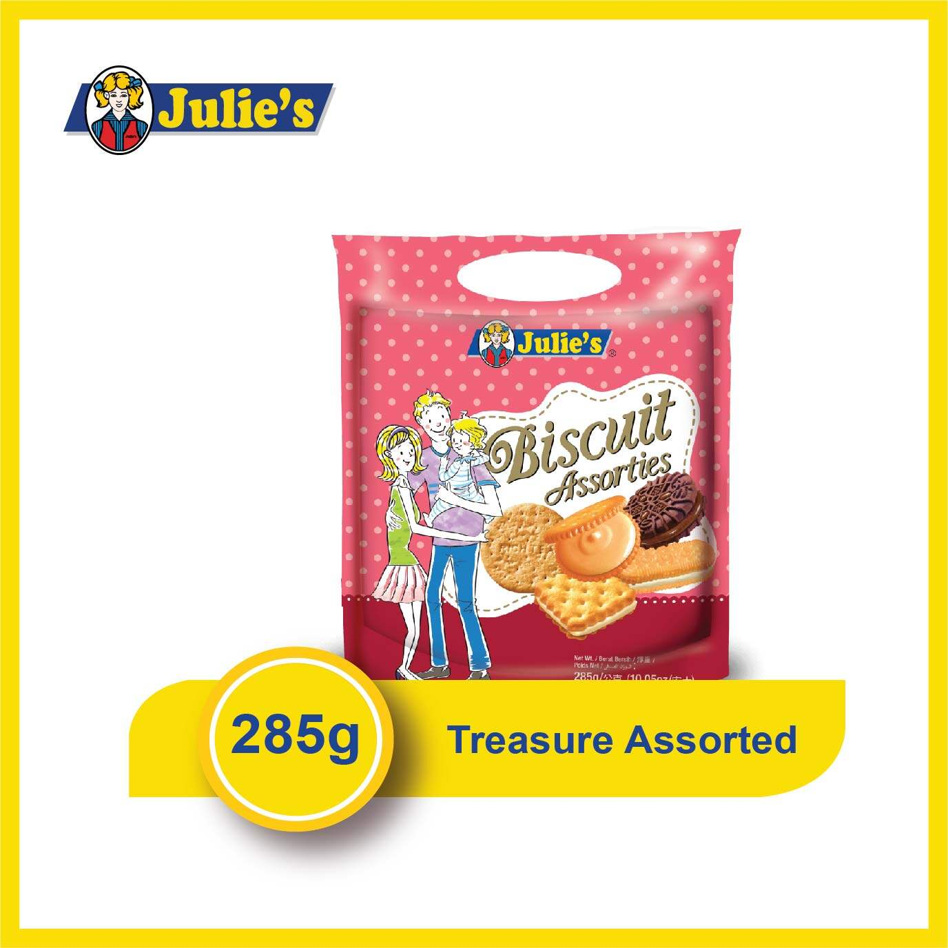Julies Biscuit Assorties 285g x 1 pack