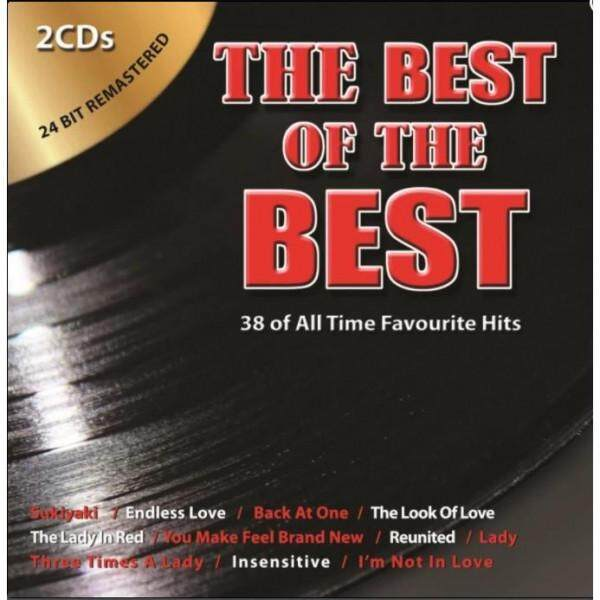 The Best of The Best 2CD 24 Bit Remastered 38 All Time Favourite Hits - Diana Ross / Lionel Richie / Brian McKnight / Kenny Rogers
