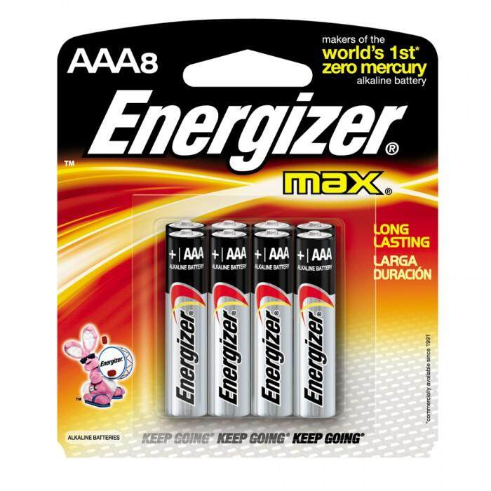 [MPLUS] ENERGIZER MAX AAA 8PC