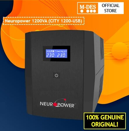 Neuropower 1200VA (CITY 1200) Line Interactive UPS